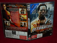 THE DETONTOR (DVD, MA 15+)(EX RENTAL)