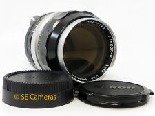 Nikon 105mm f2.5 Nikkor P AUTO PRE ai Fast primo LENS NEAR MINT CONDITION