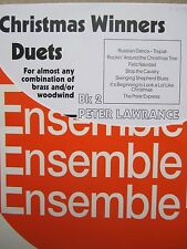 Christmas Winners Duets Bk 2 for any woodwind/brass instruments *NEW* Brass Wind