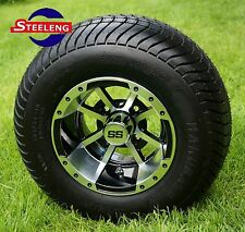 "GOLF CART 10"" STORM TROOPER WHEELS and 205/65-10 COMFORT RIDE DOT TIRES (4)"