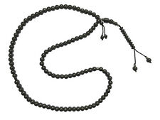 99-Bead Tasbih Hematite Stone 8mm Round Bead with Place Marker Prayer Zikr Bead