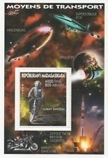 ALBERT EINSTEIN HINDENBURG APOLLO 11 HARLEY DAVIDSON 1999 MNH STAMP SHEETLET