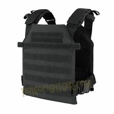 CONDOR 201042 Tactical MOLLE SENTRY Lightweight QuickRelease Plate Carrier BLACK