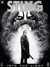 WWE: Sting - Into the Light (DVD, 2015, 3-Disc Set)