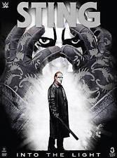 WWE Wrestling Sting Into The Light DVD Brand NEW 3-Disc Set WCW Vigilante