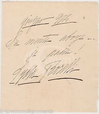 LYDA BORELLI ITALIAN THEATRE & MOVIE ACTRESS ANTIQUE AUTOGRAPH SIGNATURE