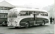 Barton No.674 a 1951 built Leyland Burlingham coach BRR154 1950s  photograph