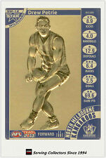 2013 AFL Teamcoach Cards Star Wild Card SW12 Drew Petrie (Nth Melb)