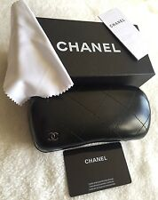 Brand New Chanel sunglasses case with cleaning cloth and gift box