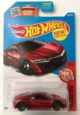 Hot Wheels '17 ACURA NSX - Red variant 2016 Then And Now 8/10 P-case honda ns-x