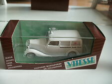 "Vitesse Mercedes 170 V ""Nederlansche Roode Kruis"" in White on 1:43 in Box"