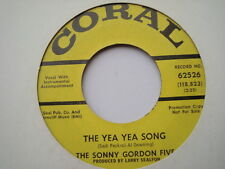 SONNY GORDON FIVE ~ THE YEA YEA SONG - NORTHERN SOUL DEMO - HEAR