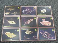 Star Trek Original Series 50th Anniversary Enterprise Concept Art Insert Set TOS