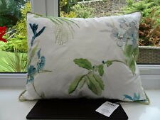 Laura Ashley Orchid Apple Embroidered Cushion with SILK EMBROIDERY BNWT