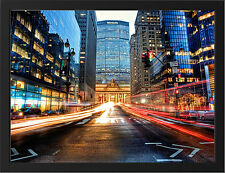GRAND CENTRAL TERMINAL MANHATTAN NEW A3 FRAMED PHOTOGRAPHIC PRINT POSTER