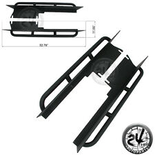 Rocker Slider With Step-Include Both Side for 97-06 Jeep TJ Wrangler