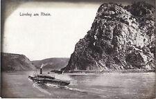 Loreley am Rhein, Schiff, Dampfer, alte Ansichtskarte von 1907