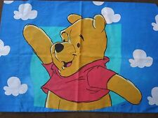Disney Winnie the Pooh Vintage Twin Sheet and Pillow Case