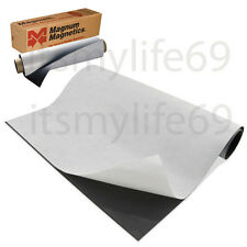 "Self-Adhesive MAGNET Magnum Magnetic Canvas Sheet Roll 12"" x 24"" 20 mil."