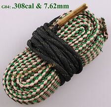Hunting Gun Bore Cleaner .308 Calliber & 7.62mm Shotgun Rifle Pistol Cleaning