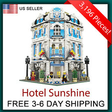 Hotel Sunshine Compatible with LEGO 10182 Modular Buildings Creator City