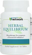 Herbal Equilibrium - 60 Tablets - Natural Menopause Relief Supplement for Hormon