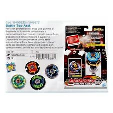 Hasbro - BEYBLADE METAL FURY BATTLE TOP trottola e lanciatore assortiti 19495751