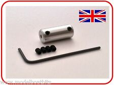 RC MOTOR COUPLING 3.2mm to 4.0mm RADIO CONTROL MODEL