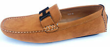 MENS LOAFERS DECK MOCCASIN DRIVING CASUAL PARTY ITALIAN SLIP ON SHOES 6 - 11