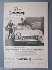 R&L Ex-Mag Advert: Lombank, Truimph Spirtfire Car