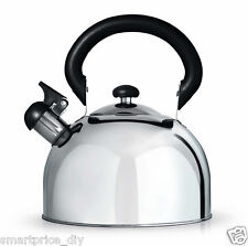 Stainless Steel Kettle for AGA RAYBURN 3 L 3 litre Whistling Stove Top New