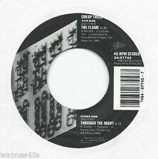 CHEAP TRICK * 45 * The Flame * 1988 #1 * USA ORIGINAL * Their BIGGEST HIT