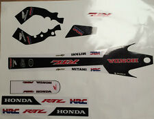 Honda RTL Style  Montesa Cota 315R,  Decal / Sticker Set Thick Moto-X Material
