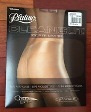 New Platino CLEANCUT Sheer to Waist SILKY and GLOSSY Pantyhose/Tights*DAKAR *XL*