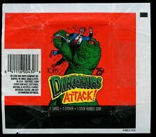 Dinosaurs Attack, Topps, Trading Cards Wrapper #W16