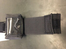 BCWB401301 Wrist Strip/Pouch for Garmin Foretrex 401/301 Color Black,Made in USA