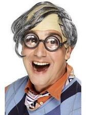 Comb It Over Novelty Mens Comb Over Gray Bald Wig