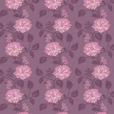 Purple Floral Self Adhesive Vinyl Wallpaper Home Depot Wallcovering Decor Sheet