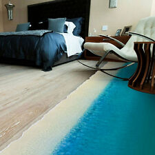 Removable 3D Beach Wall Decal Mural Home Room Decor Floor Sticker Decoration