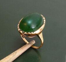 Bel età 333er Goldring M. Foresta Verde Giada * 5,8 G