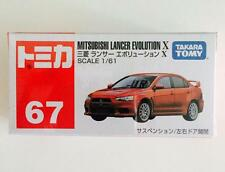 TAKARA TOMY TOMICA NO.67 MITSUBISHI LANCER EVOLUTION X - HOT PICK