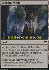 4x Evolving Wilds (Sich entfaltende Wildnis) Duel Decks: Speed vs. Cunning Magic