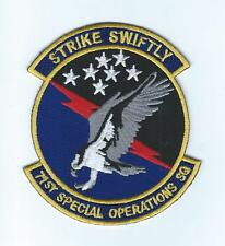 71st SPECIAL OPERATIONS SQUADRON !!THEIR LATEST!! patch