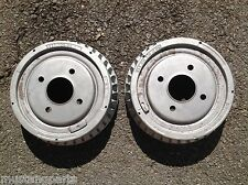 1979-1980-1981 FORD MUSTANG TURBO ALUMINUM BRAKE DRUMS -- INDY 500 PACE CAR M-81