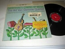 ART VAN DAMME QUINTET Everything's Coming Up Music COLUMBIA 6 EYE Stereo PROMO