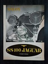 1967 Jaguar SS 100 - 5-Page Original Article - Free Shipping