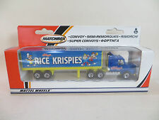 MATCHBOX CONVOY CY16 SCANIA 'RICE KRISPIES' BOX TRAILER. MIB. RARE GERMAN ISSUE.