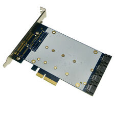 4 PORT SATA III PCIe card RAID (MARVELL 88SE9230) Desktop SATA3.0 expansion card