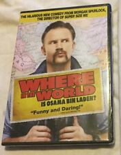 Where in the World is Osama Bin Laden? (DVD, 2008) Morgan Spurlock | Brand New