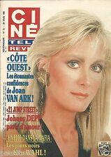 Couverture magazine,Coverage Ciné Télé Revue 29/03/90 Joan Van Ark